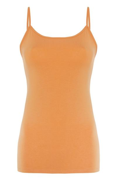 Orange Stretch Cami