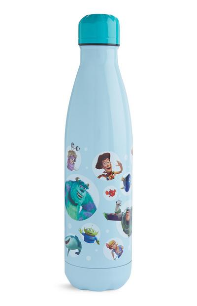 Blue Pixar Characters Water Bottle