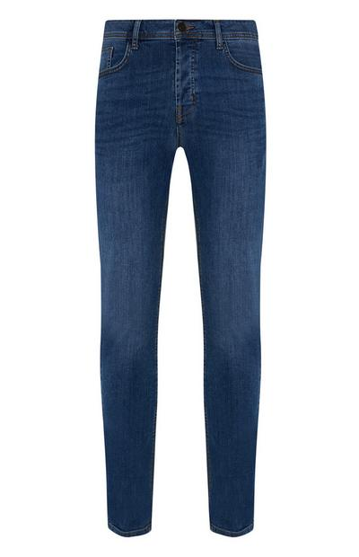Jean slim stretch bleu moyen