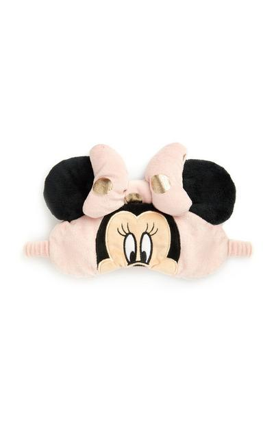 Pink And Gold Minnie Mouse Eyemask