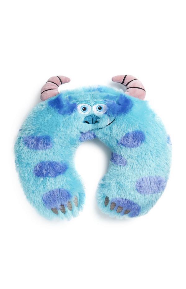 Cuscino da viaggio blu Sulley Monster & Co.