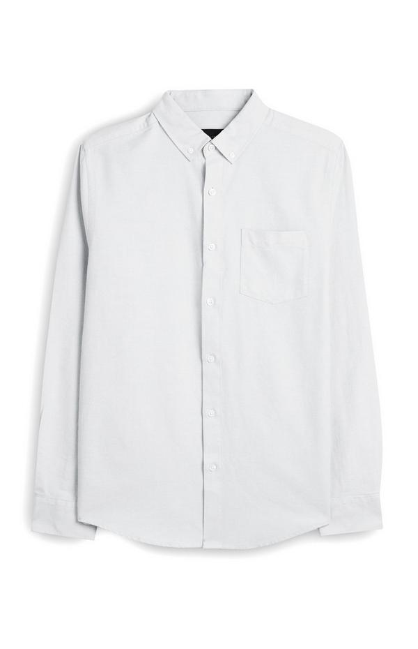 White Long Sleeve Button Up Shirt
