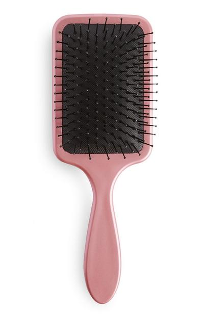 Pink Soft Paddle Brush