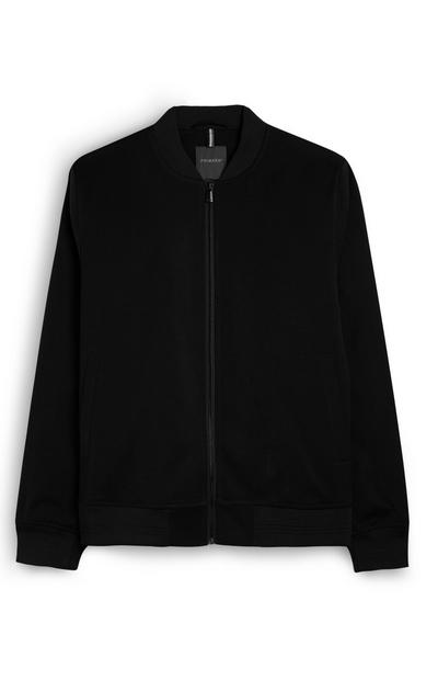 Plain Navy Bomber Jacket