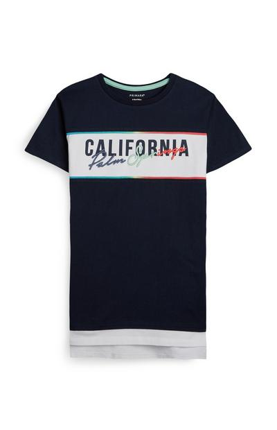 "Marineblaues ""California"" T-Shirt (Teeny Boys)"