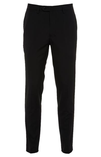 Black Buttoned Trousers
