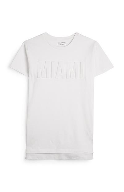 Older Boy Embossed Miami T-Shirt