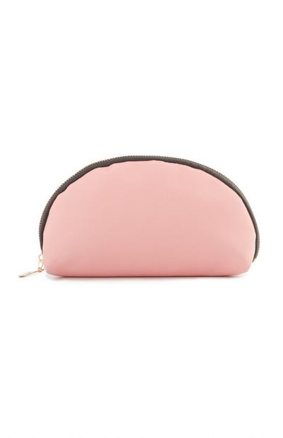 Pink Rounded Pencil Case