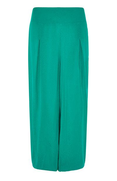 Emerald Dobby Leg Trousers