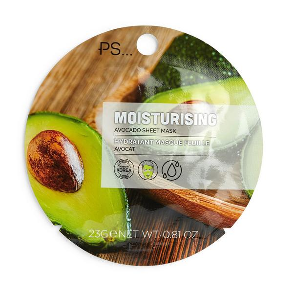 Ps Moisturising Avocado Sheet Face Mask
