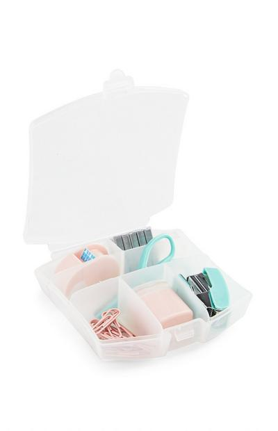 Pink Stationery Tool Kit 6Pc