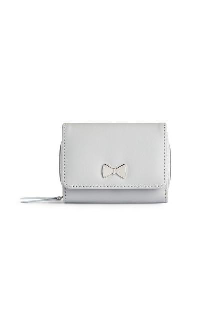 Kleine grijze portemonnee