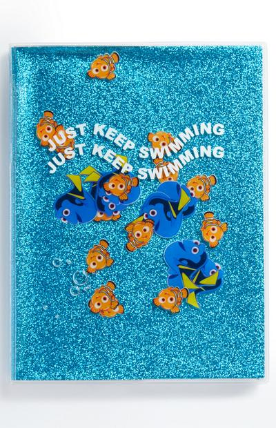 Blue Pixar Nemo Gel Notebook
