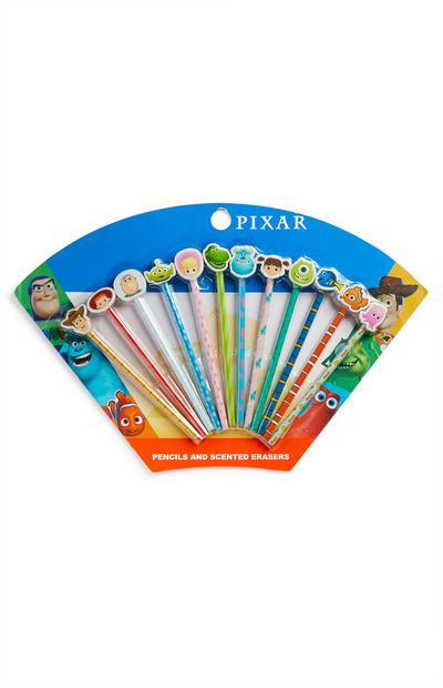 Lot de 12 méga crayons parfumés Pixar