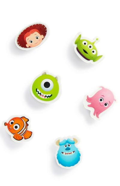 Pixar Shaped Erasers