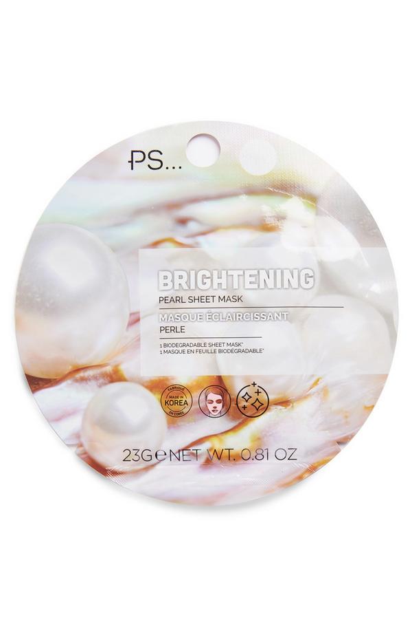 Ps Brightening Pearl Facial Sheet Mask