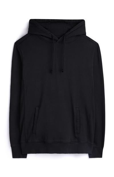 Zwarte premium hoodie