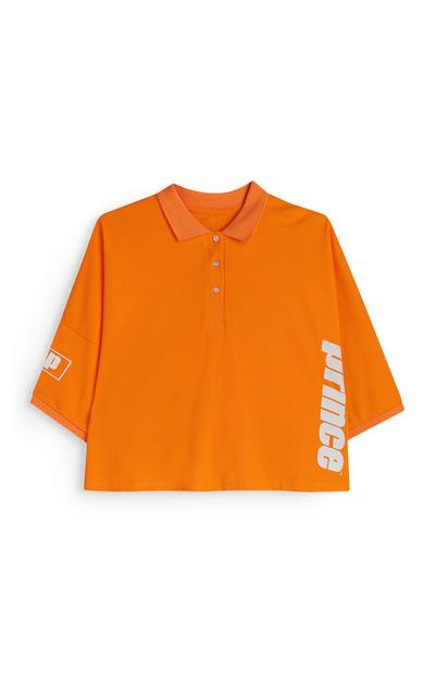 """Prince"" Poloshirt in Orange"