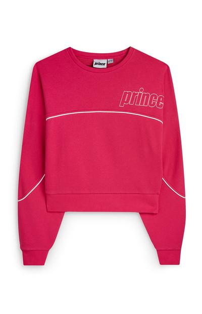 """Prince"" Sweatshirt in Pink"