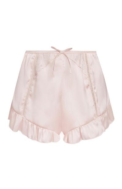 Shorts color cipria vaporosi