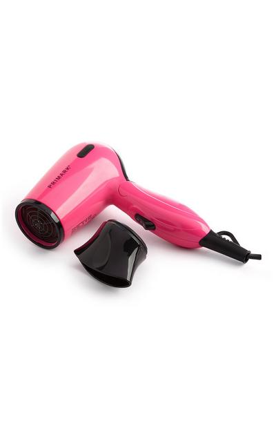 Pink Travel Hair Dryer