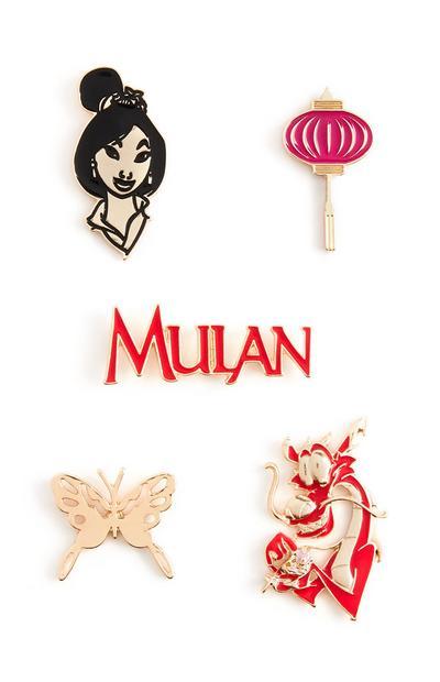 Confezione applicazioni Mulan Disney