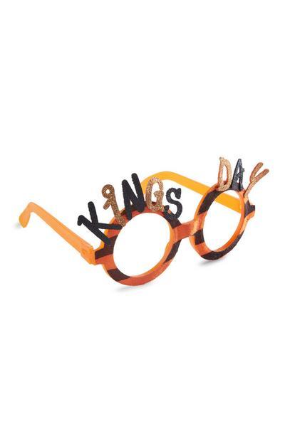 Oranje Koningsdagbril
