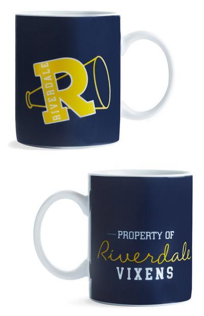 Riverdale Blue And Yellow Vixens Mug