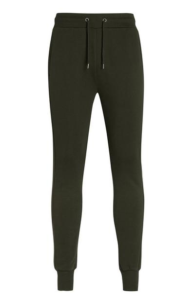 Kaki joggingbroek