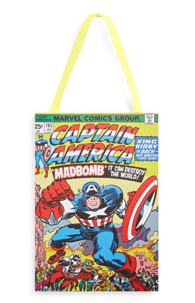 """Marvel Captain America"" Dekoschild"
