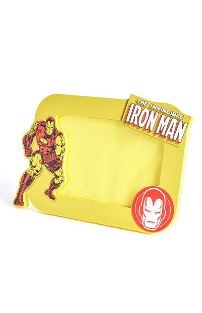 Yellow Marvel Ironman Frame
