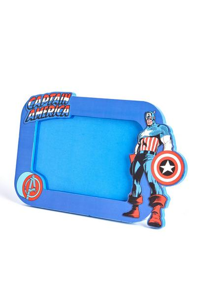 """Blauer """"Captain America"""" Bilderrahmen"""