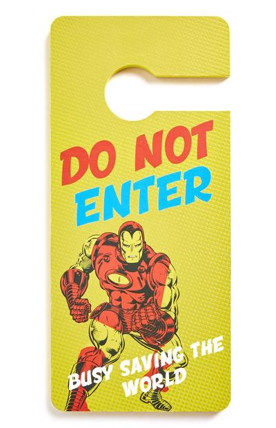 Marvel Iron Man Door Hanger