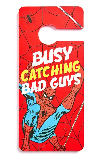 Marvel Spiderman Door Hanger
