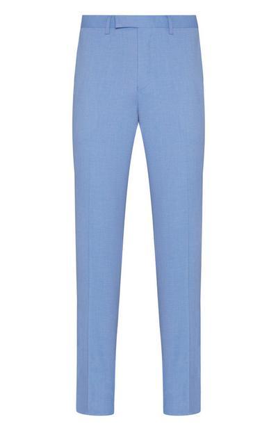 Light Blue Dressy Linen Pants