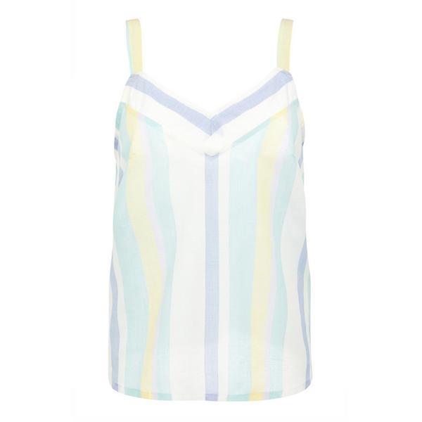 Pastel Summer Stripe Camisole