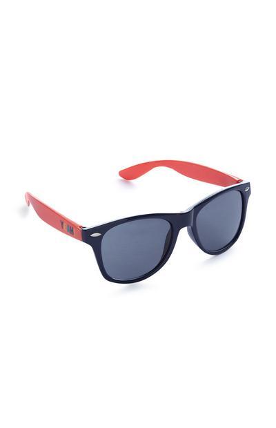 Donkerblauw-rode Stacey Solomon-zonnebril, jongens