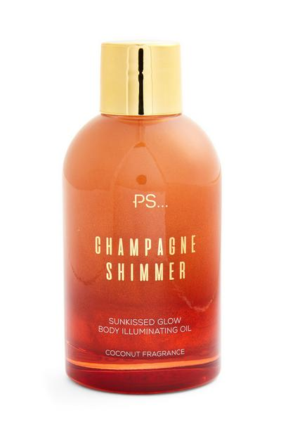 Ps Champagne Shimmer Bronzing Glow Body Oil