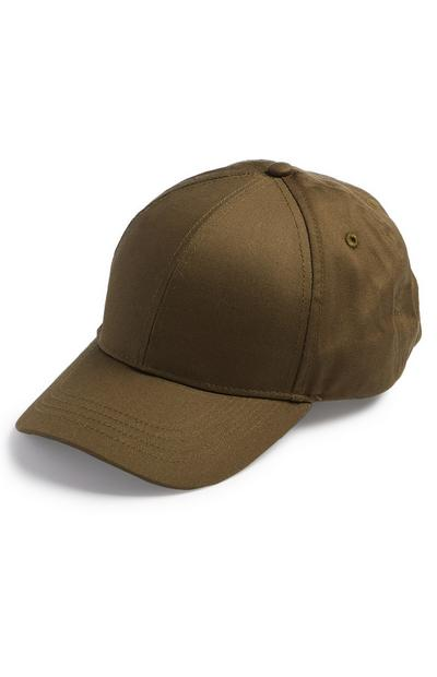 Plain Brown Baseball Cap
