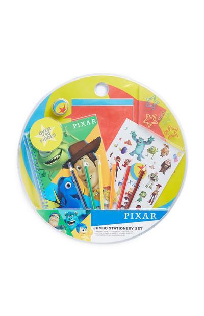 Juego de artículos de papelería grande de Pixar