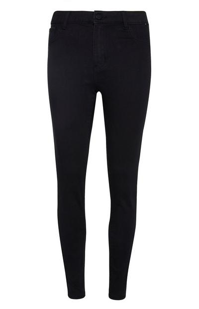 Black Push Up Trousers