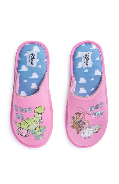 Pink Toy Story Slippers