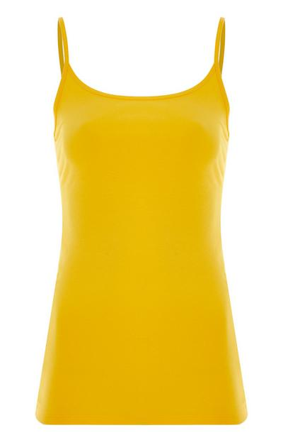 Yellow Stretch Cami
