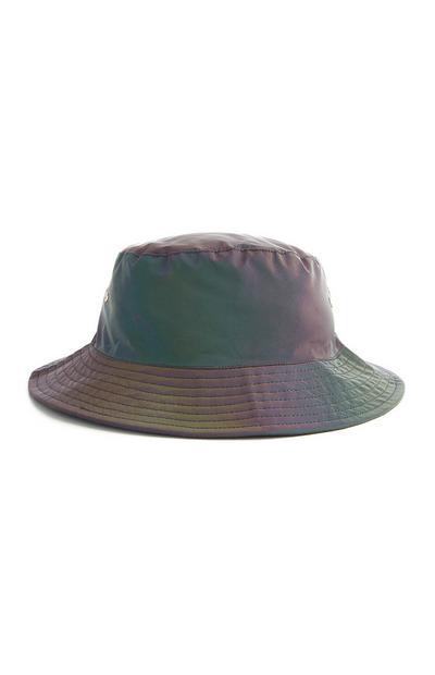 Black Reflective Bucket Hat