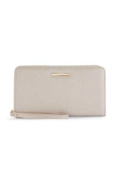 Large Gold Clutch Bag