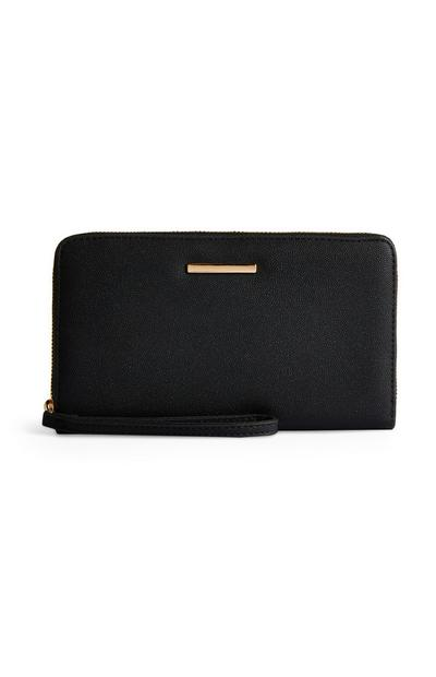 Black Glittery Clutch Bag