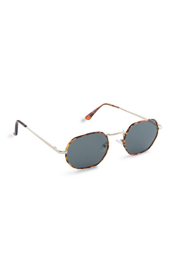 Brown Tortoiseshell Square Sunglasses