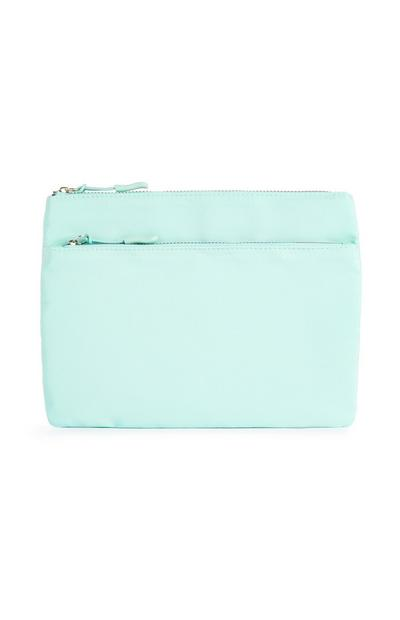 Mint Pouch Make-Up Bag