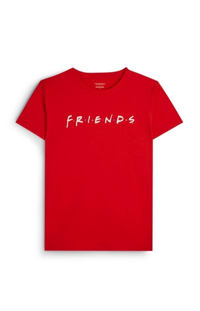 Friends Red Logo T-Shirt