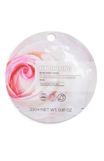 Sheetmasker voor gezicht PS Hydrating Rose